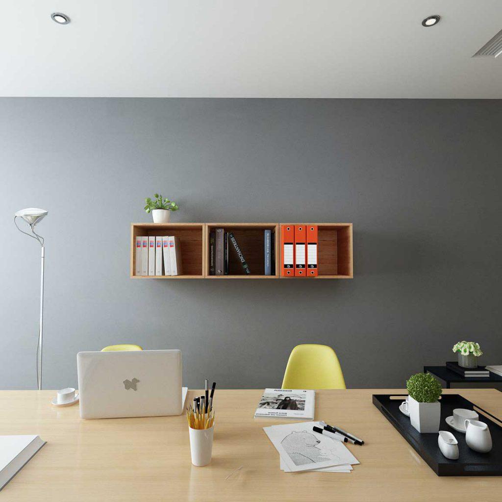 تصویر باکس دیواری 24 در دفتر