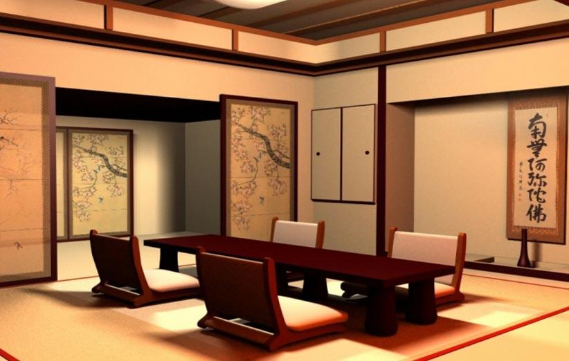 تصویر سبک دکوراسیون داخلی ژاپنی