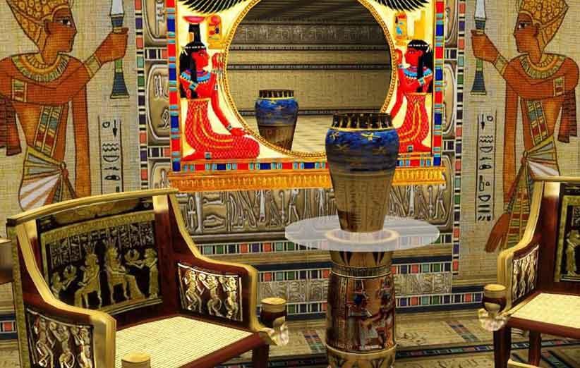 تصویر سبک دکوراسیون داخلی مصری