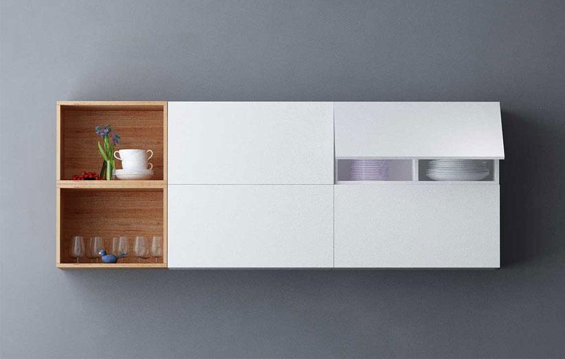 تصویر برای کابینت آشپزخانه مدرن با باکس ماکس