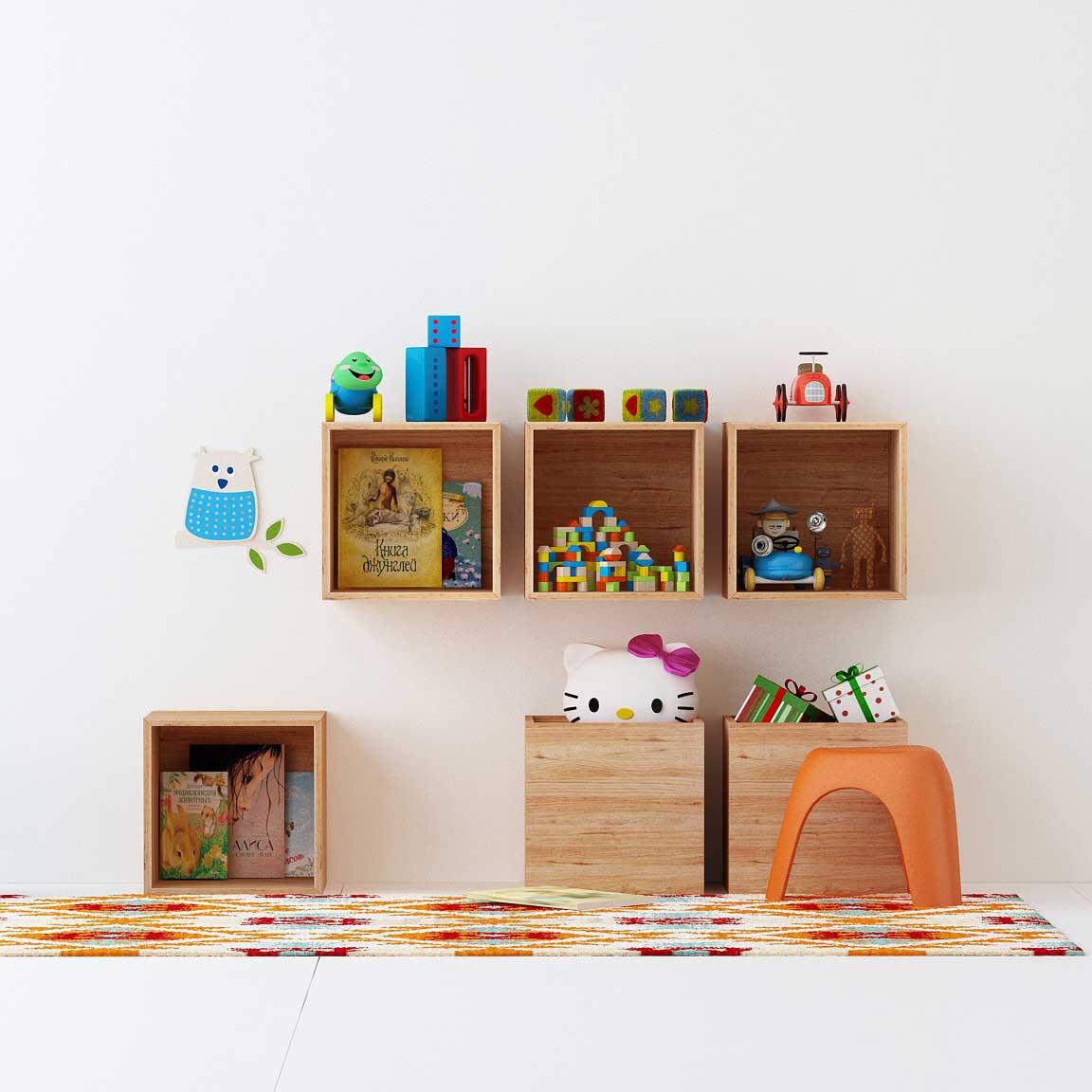 باکس دیواری اتاق کودک