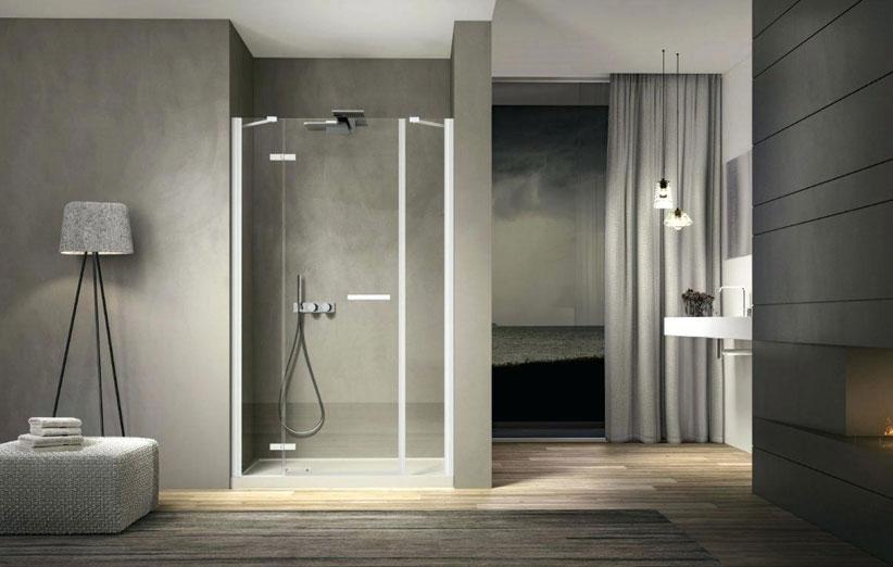 تصویر حمام با دکوراسیون داخلی مینیمال