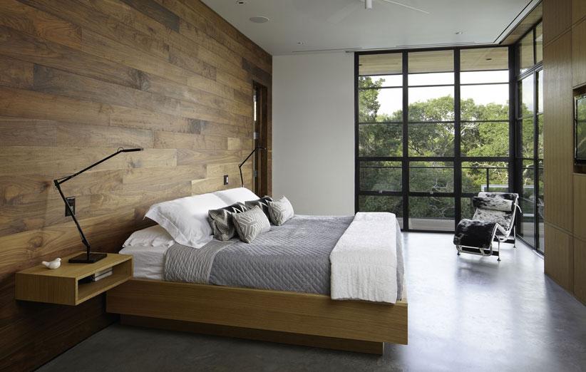 تصویر اتاق خواب با دکوراسیون داخلی مینیمال