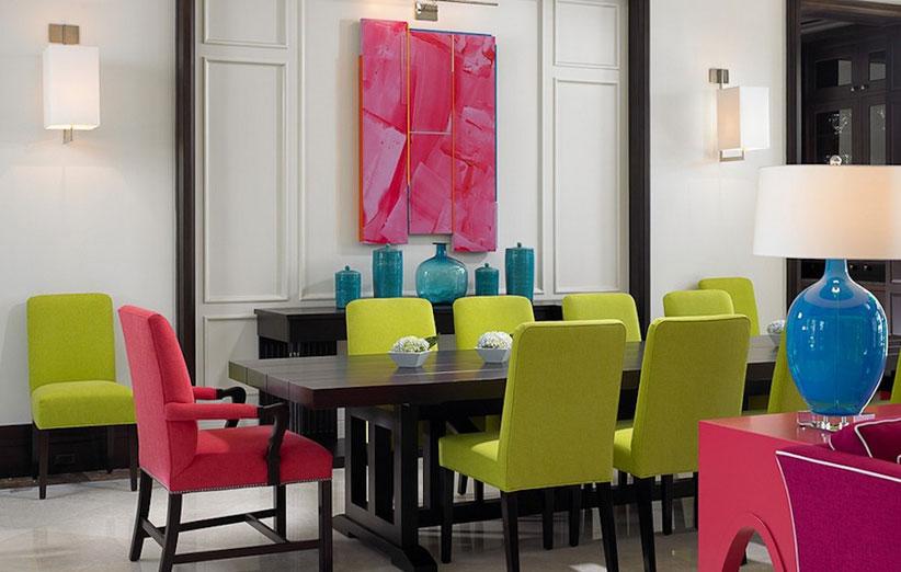 تصویر برای رنگهای مکمل در دکوراسیون منزل