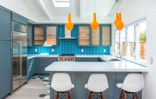 تصویر برای رنگ های مکمل در دکوراسیون منزل
