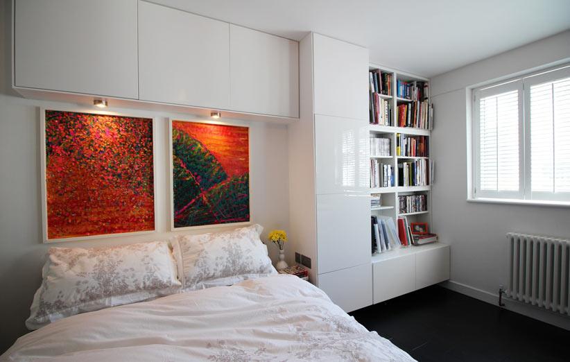 تصویر دکوراسیون اتاق خواب کوچک