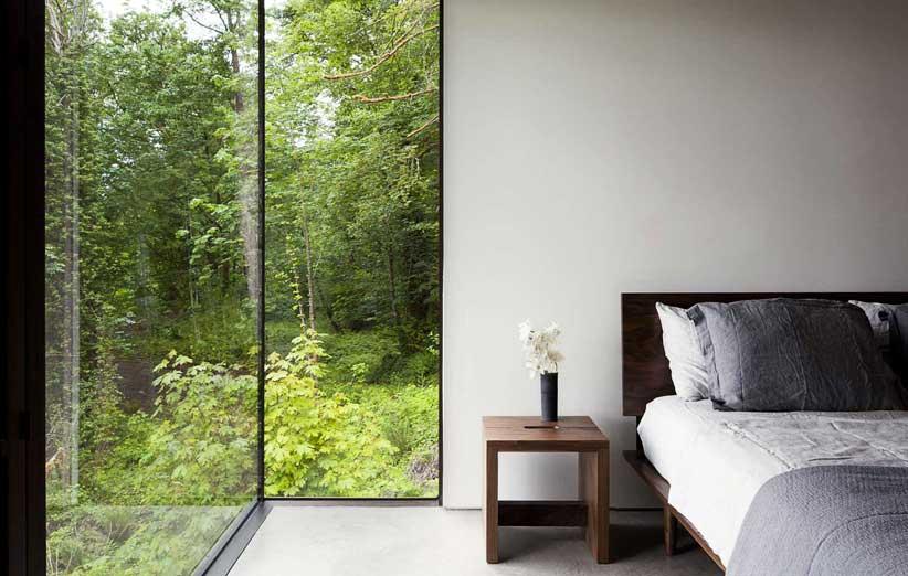 تصویر کاربرد مینیمالیزم در دیزاین اتاق خواب کوچک