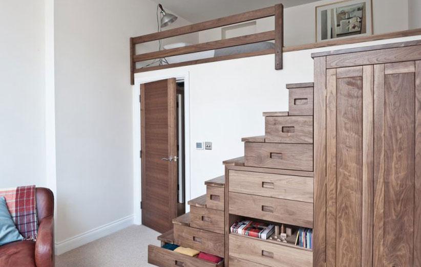 تصویر دیزاین اتاق خواب کوچک