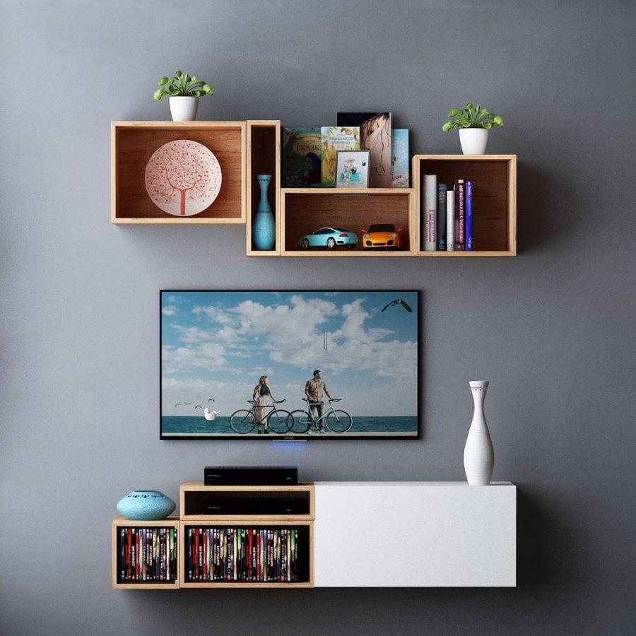 تصویر زیر تلویزیون دیواری باکسماکس