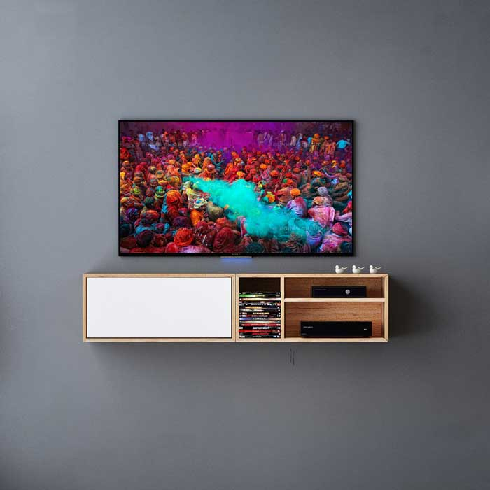 میز تلویزیون دیواری کارلا