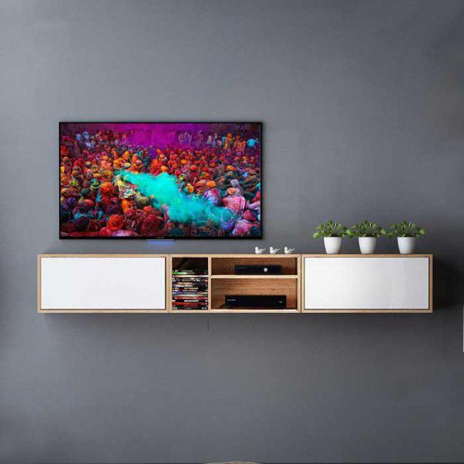 میز تلویزیون دیواری کارمن