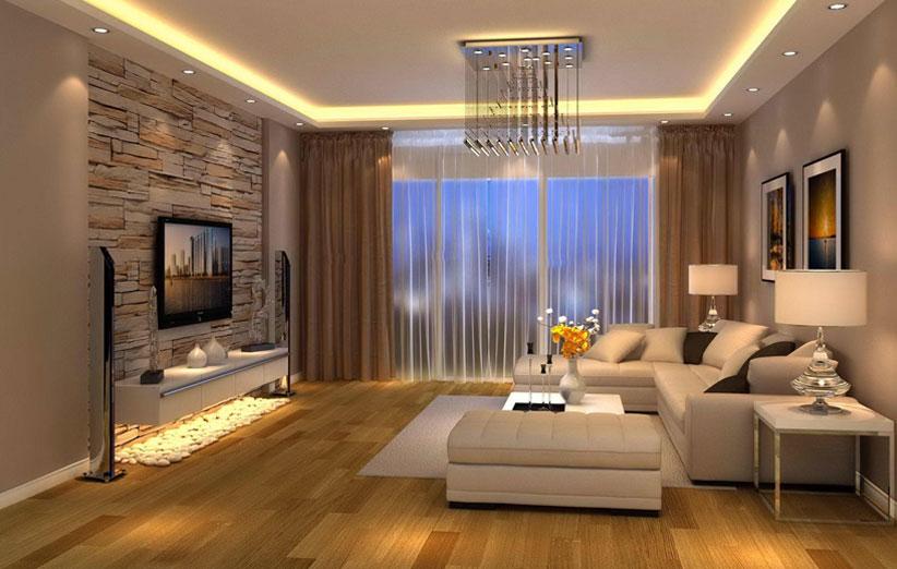 تصویر اتاق تلویزیون