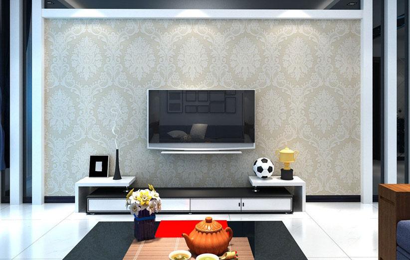 تصویر جای تلویزیون روی دیوار