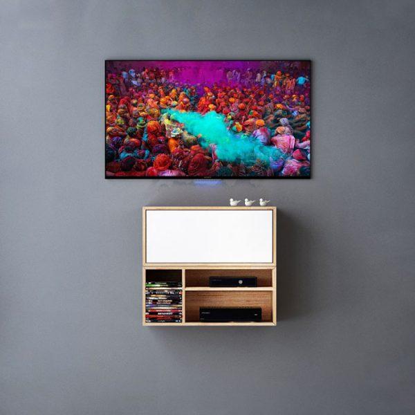 تصویر میز تلویزیون دیواری 06