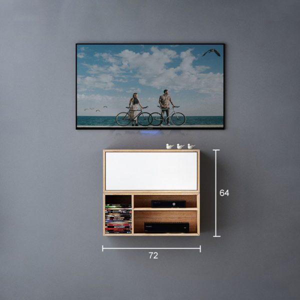 تصویر سایز میز تلویزیون دیواری 06