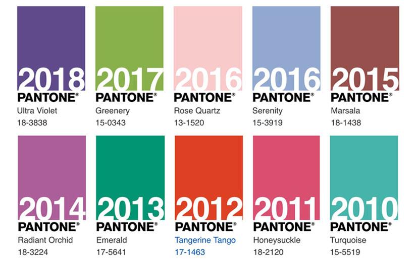 تصویر رنگهای سال