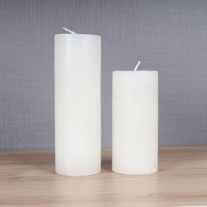 تصویر شمع تزیینی دوقلو استوانهای