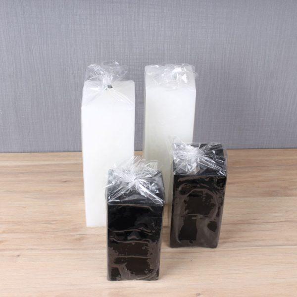 تصویر شمع تزیینی در پلاستیک