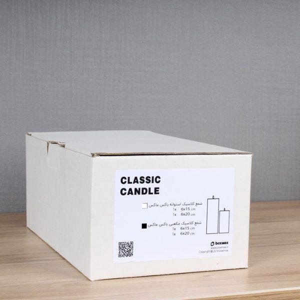 تصویر شمع تزیینی در بستهبندی