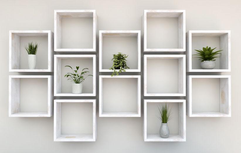 تصویر باکس دیواری سفید