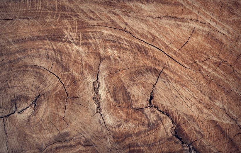 تصویر چوب طبیعی