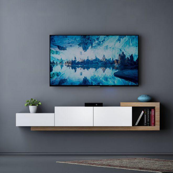 میز تلویزیون دیواری mdf