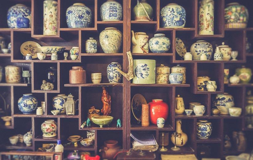 تصویر دکور مغازه صنایع دستی