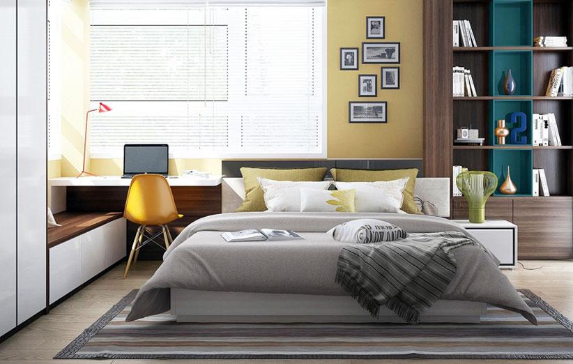 تصویر اتاق خواب مدرن
