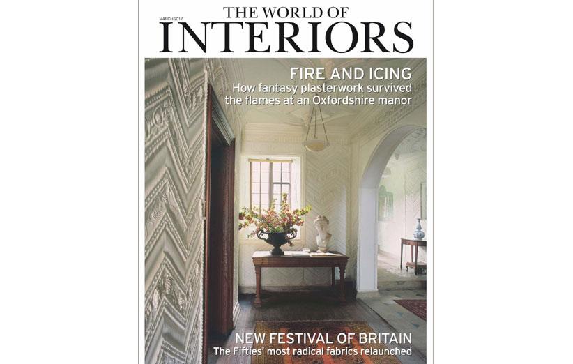 تصویر مجله world of interiors