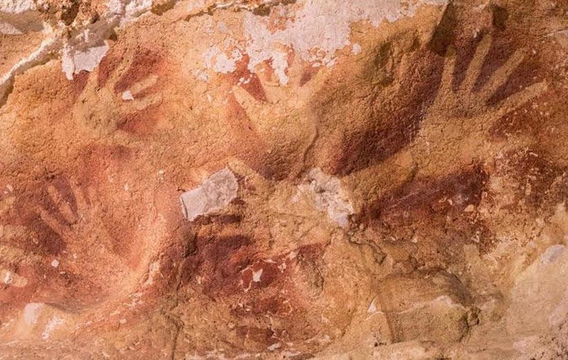تصویر دکوراسیون داخلی در غار