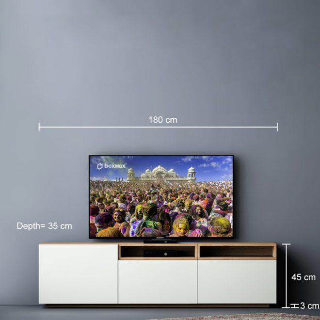 تصویر میز تلویزیون سایز
