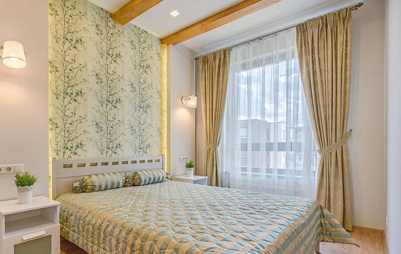 پرده اتاق خواب و پذیرایی