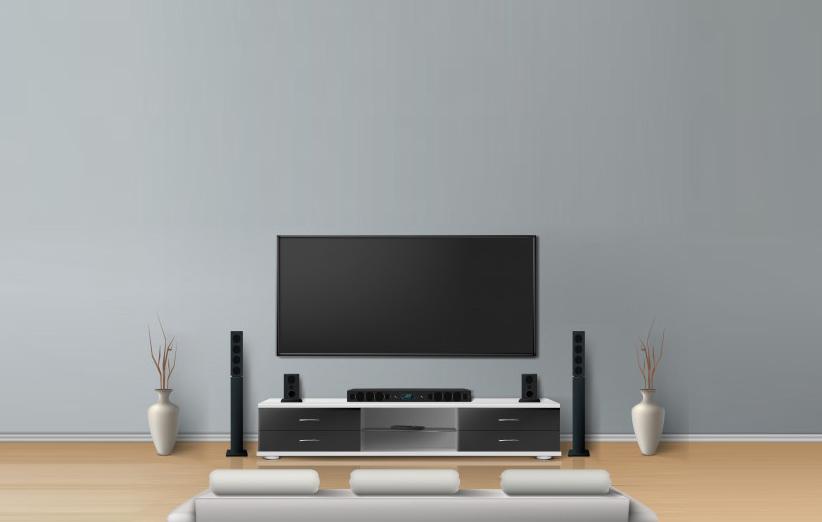 تصویر تلویزیون در منزل