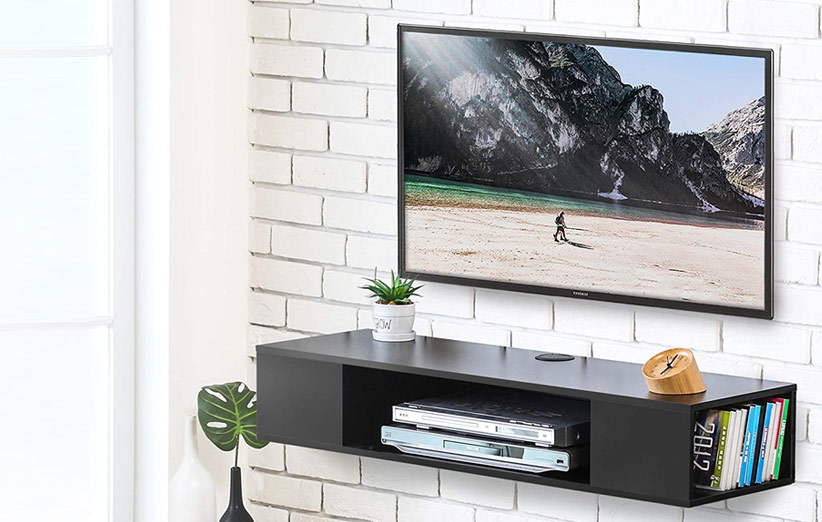 تصویر میز تلویزیون دیواری