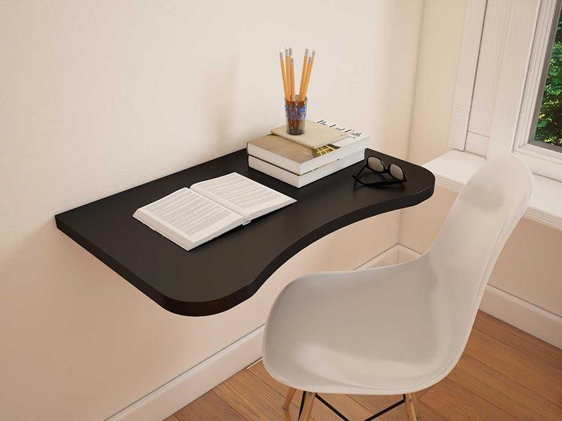 میز کامپیوتر حرفه ای دیواری