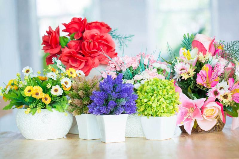 گل مصنوع