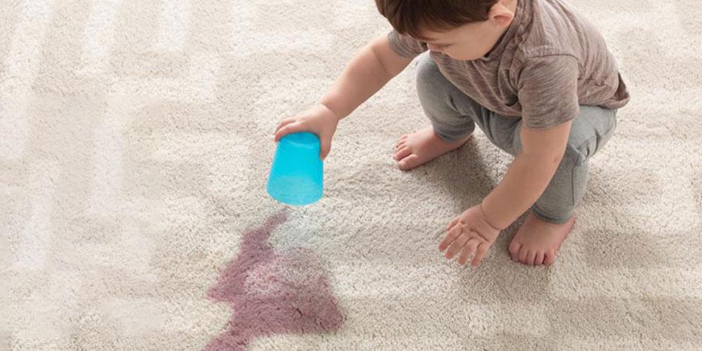 سوختگی فرش