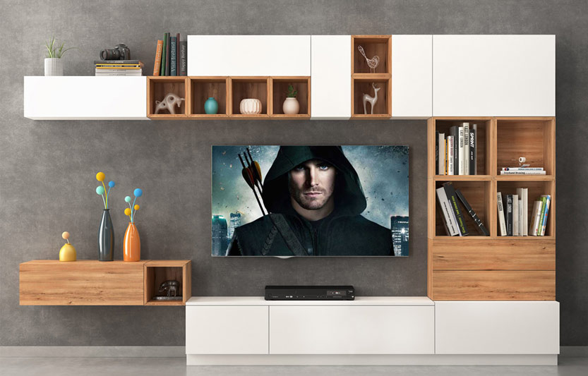 دکور تلویزیون دیواری