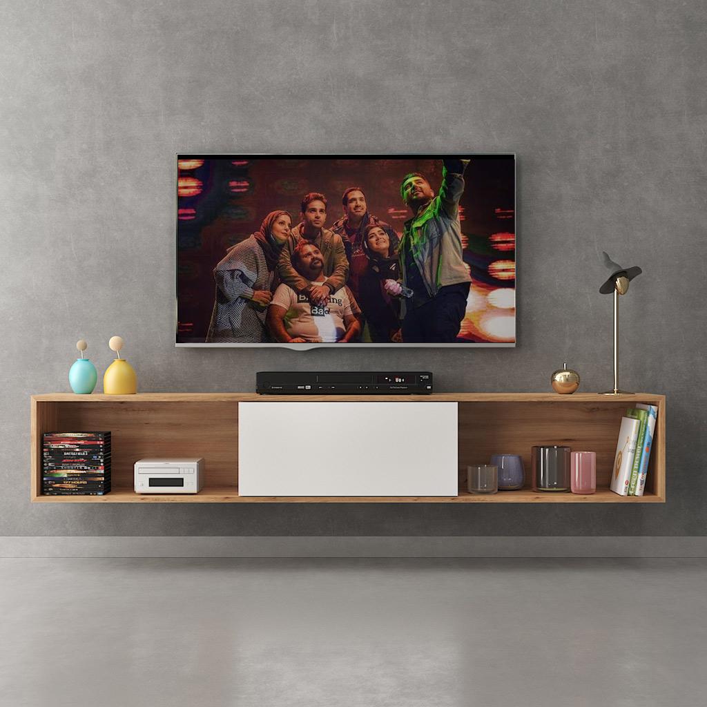 میز تلویزیون دیواری بن