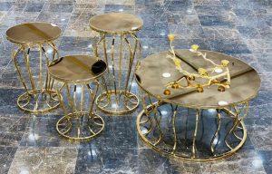میز عسلی فلزی