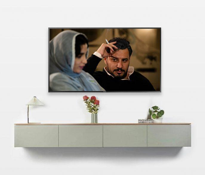 میز تلویزیون دیواری لنتو